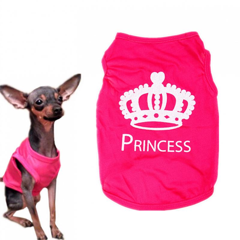 66d0039ae5fd5f 1 pc Pet Ubrania Dla Małych Psów XS-L Moda Zwierzęta Pies Kot Cute Princess  ...
