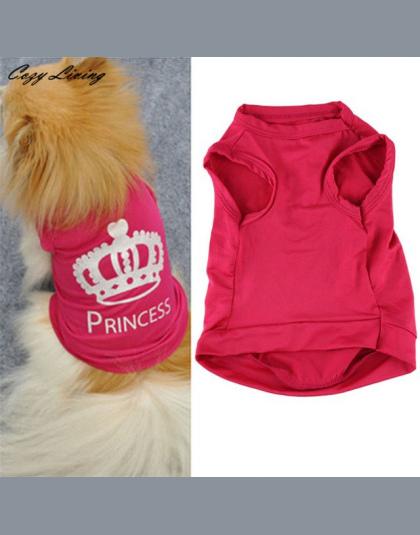 63686371e93bc2 1 pc Pet Ubrania Dla Małych Psów XS-L Moda Zwierzęta Pies Kot Cute Princess