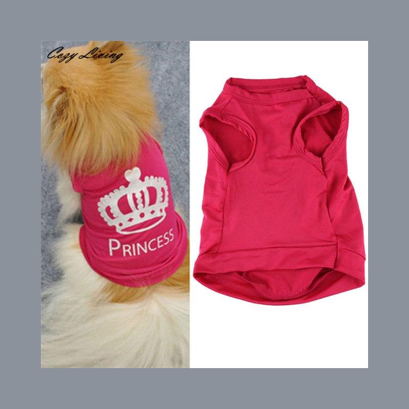 696811a0fb7a92 ... 1 pc Pet Ubrania Dla Małych Psów XS-L Moda Zwierzęta Pies Kot Cute  Princess