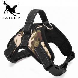 [TAILUP] Pet Products dla Dużych Psów Uprząż k9 Świecące Led Collar Puppy Ołów Zwierzęta Kamizelka Pies Prowadzi Akcesoria chihu