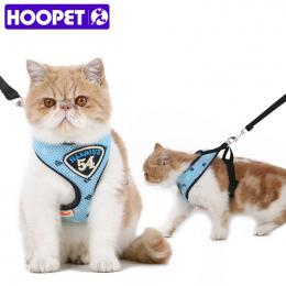 HOOPET Zwierzęta Kot Kamizelka Szelki Smycze Garnitur Granatowy Uprząż Pet Cat Puppy Pet cat Małe Zwierzęta