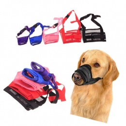 1 PC Regulowany Mesh Oddychające Małych i Dużych Psów Usta Kufa Anti Bark Chew Bite Dog Muzzles Szkolenia Produkty Dla Zwierząt