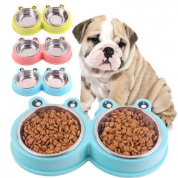 Pet Dog Woda Bowl Karmienie Podajnik Śliczny Kształt Pies Podajnik Pitnej Dla Kotów Psów Dozownik Wody Pies Żywności Miski Dla Z