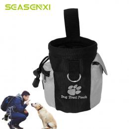 Przenośny Pet Dog Treat Pouch Pies Posłuszeństwo Agility Szkolenie Traktuj Torby Odpinany Pup Rss Kieszeń Puppy Przekąskę Nagrod