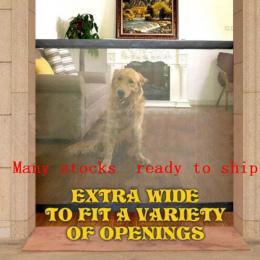 Dropshipping 2018 Pies Bramy Pomysłowe Siatki Magia Pet Brama Dla Psów Straż Bezpieczne i Zainstalować Pet Dog Obudowy Bezpiecze