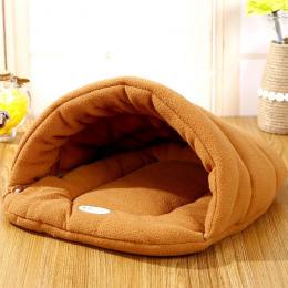 Hot! Hodowla Kotów domowych Łóżko Mały Pies Szczeniak Kanapa Polar Materiał łóżko Mata Dla Zwierząt Kot Dom Kot Śpiwór Ciepłe Gn