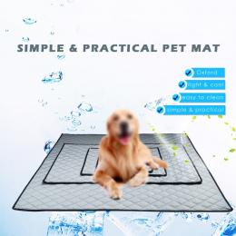 Cienkie Lato Fotelik Samochodowy Mata Psa Kratę Pies Poduszki dla Podróży Easy Clean Pet Poduszki Łóżka dla Dużych Psów Dropship