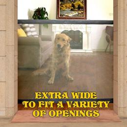 2018 Nowy Magia-Brama Dog Pet Ogrodzenia Przenośne Składane Straż Bezpieczne Wewnątrz i Na Zewnątrz Ochrona Bezpieczeństwa Magia