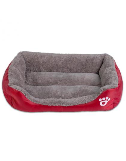 S 3xl 9 Kolory Paw Pet Sofa łóżka Psa Wodoodporne Dno Miękkie Ciepły Polar Cat Bed Dom Petshop Dropshipping Cama Perro