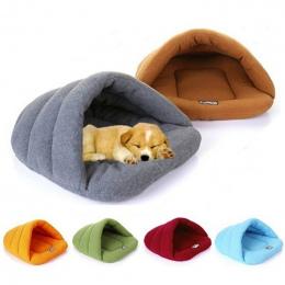 6 kolory Miękkie Polary Pet Mat Zima Ciepłe Gniazdo Pet Cat Mały Pies Puppy Hodowla Łóżko Sofa Śpiwór dom Puppy Cave Bed