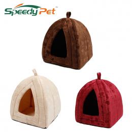 Nowy Przyjeżdża Hodowla Zwierząt Domowych Super Miękkie FabricDog Łóżko Księżniczka Dom Określić dla Puppy Dog Cat z Łapy Cama P
