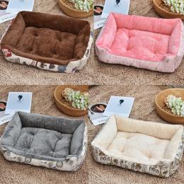 Miękkie Łóżka Psa Ciepły Polar Krzesło Kanapa dla Małych Psów Duża Husky pies Golden Retriever Łóżko Kennel Pet Products XS do X