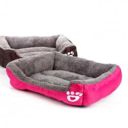 Legowisko dla Małe Średnie Duże Psy 2XL Rozmiar Pet Dog House Ciepłe Bawełniane Puppy Cat Łóżka dla Chihuahua Yorkshire złoty Du
