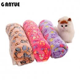 Ganyue Mały Pies Koc Kot Pies Maty Oddychające Miękkie Łóżko koc Dla Psów i Kotów Szczeniak Kotek Chomiki Gwinea Świnie Ciepły K