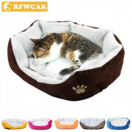 50*40 cm Wygodne i miękkie Łóżko Dla Kota Mini Dom dla Kotów Domowych psa Sofa Dobre Produkty dla Puppy Cat Pet Dog Supplies