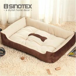 Plus Rozmiar Duży Pies Łóżko Mata Kennel Pet Dog Puppy Miękkie ciepłe Łóżko Dom Plush Cozy Nest Dog House Pad Ciepła Zwierzęta d