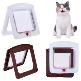 Zwierzęta Kot Puppy Dog Bramy Drzwi Zamykane Bezpieczne Klapa Pet produkty bezpieczeństwa Blokada Nadaje Się do Każdej Ściany lu