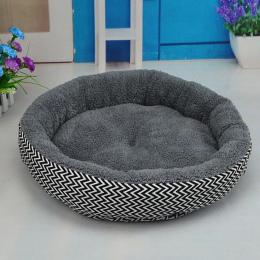 Pet House Łóżko Dla Psów Cat Miękkiej Bawełny Łóżko Pies Puppy Koty Dom Plush Nest Mat Pad Soild Kolor akcesoria dla zwierząt