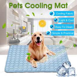 Hoomall Chłodzenia Latem Maty Koc Lodu Pet Dog Bed Sofa Przenośny Tour Camping Joga Spania Maty Dla Psów Kotów Pet akcesoria