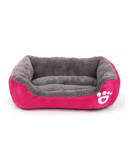 łóżka Psa Sofa Ocieplenie Domowych łóżko Miękkie Ciepły Polar łóżka Psa Dla Dużych Psów Wodoodporny Zwierzę Pościel Kot Dom łóżk