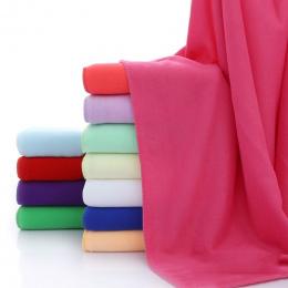 70x140 cm Włókna De Bambou Douce Sechage Rapide Douche Ręcznik kąpielowy Z Mikrofibry Bardzo Chłonnym Tekstylia Domowe Duża Grub