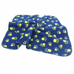 60*70 cm Zwierzęta Pies Kot Paw Print Mat Koc Miękki Ręcznik dla Dużego Psa Szczeniaka Łóżko Kołdra Ręcznik kąpielowy Zwierzęta