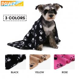 Wersja wąska Teddy Puppy Dog Cat Koc Darmowa Wysyłka Druku Łapy Multicolor Samochodów Mata mata Pies Bezpieczeństwa Miękki Polar