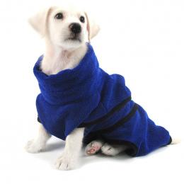 Pies Szlafrok Ciepłe Ubrania Dla Psów Super Chłonne Suszenie Ręczników dla Złoty Teddy Niebieski Ręcznik kąpielowy XS-XL Pet Sup