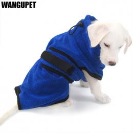 Pet włókna Drobnoziarnisty szlafrok ręcznik ręcznik Super chłonne pies szybkie sucha karma dla kotów Pies Kąpieli ręcznik kąpiel