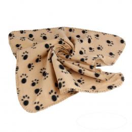 Duży Rozmiar 100*70 cm Zwierzęta Pies Kot Miękki Koc Ręcznik Druku Łapy mata Dla Dużego Psa Szczeniaka Łóżko Kołdra Ręcznik kąpi