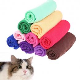 1 SZTUK Bardzo Chłonne Suszenie Ściereczka Z Mikrofibry Nowy Wysokiej Jakości Miękki Ręcznik szybkoschnący niestrzępiącą Pet Pup