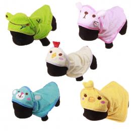 Hoomall Śliczne Pet Dog Miękki Ręcznik Suszenia Kąpieli Pet Ręcznik Dla Pies Kot Cute Cartoon Puppy Super Chłonne Szlafroki Pet