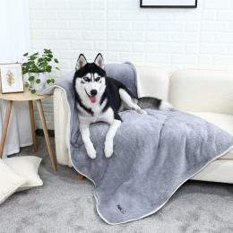 3 kolory Winceyette Zwierzę Koc Ciepłe Puppy Bed Mat Pokrywa Małe Średnie Pies Kot Wysokiej Jakości Tkanina Cozy Miękkie Darmowa