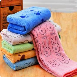 Mieszanka bawełny Ciepłe Miękkie Szlafroki Zwierzęta Pies Kot Kreskówka Śliczny Ręcznik kąpielowy Rozmiar SML Pet Mycia Akcesori
