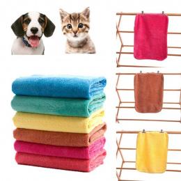 ISHOWTIENDA Zwierzęta Pies Kot Miękkie Szybkie Suche Prysznic Ręczniki Kąpieli Ręcznik Czyszczenia Konieczne Szybkoschnąca dla P