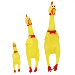 30 cm 17 cm 41 cm Krzyczy Kurczaka Dźwięku Wycisnąć Zabawki Zwierzęta Produktów Zabawki Zabawki Dla Psów Shrilling Dekompresja N