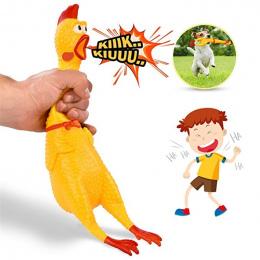 Kurczaka krzyczy Squeeze Shrilling Dźwięk Toy Zwierzęta Pies Zabawki Produktu Dekompresja Narzędzie Squeak Vent kurczak