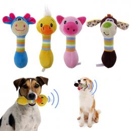 Śliczne Pet Dog Puppy Zwierzęta Pluszowe Zabawki Chew Piszczałka Honking wiewiórka Dla Psów Pet Cat Chew Squeaking Pluszowe Zaba