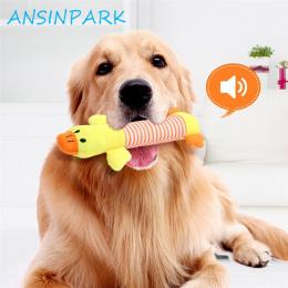 ANSINPARK chew zabawki wokalizacji pies kot zwierząt w tkaniny lalki zabawki zrównoważony rozwój dick psa dla psów akcesoria dla
