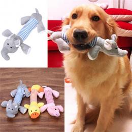 1 SZTUK zwierząt żuć zabawka pies kot zabawki lalki tkaniny śpiew akcesoria na zrównoważony rozwój dick dog pet z wysokiej jakoś
