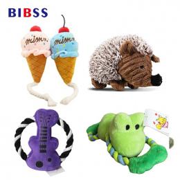 Dog Toy Squeak Dźwięk Zabawki Pluszowe Chew Zabawki dla Kotów kulki Interaktywne Zabawki pet Supplies Dropshipping