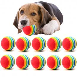 10 Sztuk/partia Mini Mały Pies Zabawki Dla Zwierząt Domowych Psów Puppy Dog Chew Ball Piłka Tenisowa piłka Dla Pet Zabawka Szcze