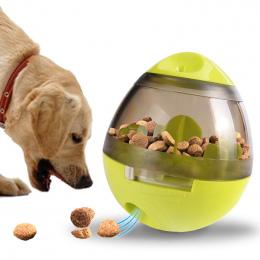 Pet Dog Zabawki Suszarka Wycieku Piłka Psa Gryźć Zabawki Wymienny Psy Wycieku Dozownik Żucia Produkty dla Średnich i Dużych Psów