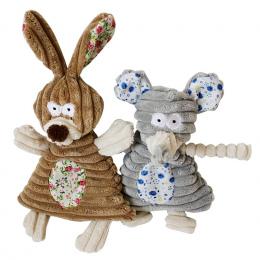 Zabawki Dla psów Pet Puppy Chew Piszczałka Piskliwy Plush Dźwięk Śliczny Królik Słoń Nadziewane Pies Squeaking Zabawki