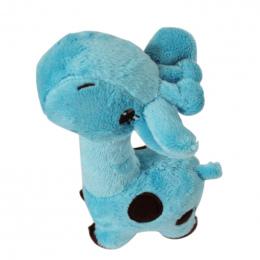 17*5 cm Cartoon Deer Kształt Pluszowe Zabawki Psa Szczeniak Dźwięk Chew Zabawki
