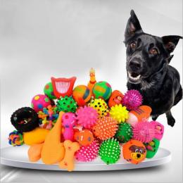 Pies Pet Supplies Dog Puppy Toy Cat Winylu Piłka Pies Piskliwy Zabawki Znachor Chew Dźwięku Grać Pobieranie Śmieszne Szkolenia