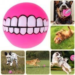 Zabawna Cute Puppy Zwierzęta Pies Kot Piłka Zabawka Zęby Pogrubienie PCV Dźwięk Chew Psy Grać Pobieranie Squeak Zabawki Pet Supp