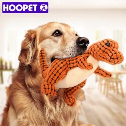 HOOPET Pies Zabawki Dźwięk Teddy Szczeniąt Odporne Na gryzienie Molowa Interaktywne Zabawki Dla Zwierząt