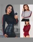 Kobiet Body 2018 New Fashion Kobiety Trójkąt W Paski Z Długim Rękawem Pure Color Bobasów Kombinezony Znosić Kobiety Odzież