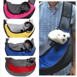 Do Przewozu zwierząt Kot Puppy Małe Zwierzę Pies Przewoźnik Sling Przodu Siatki Travel Tote Torba Na Ramię Plecak SL